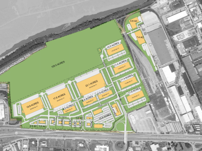 Fenton Logistics Park Aerial Map 01