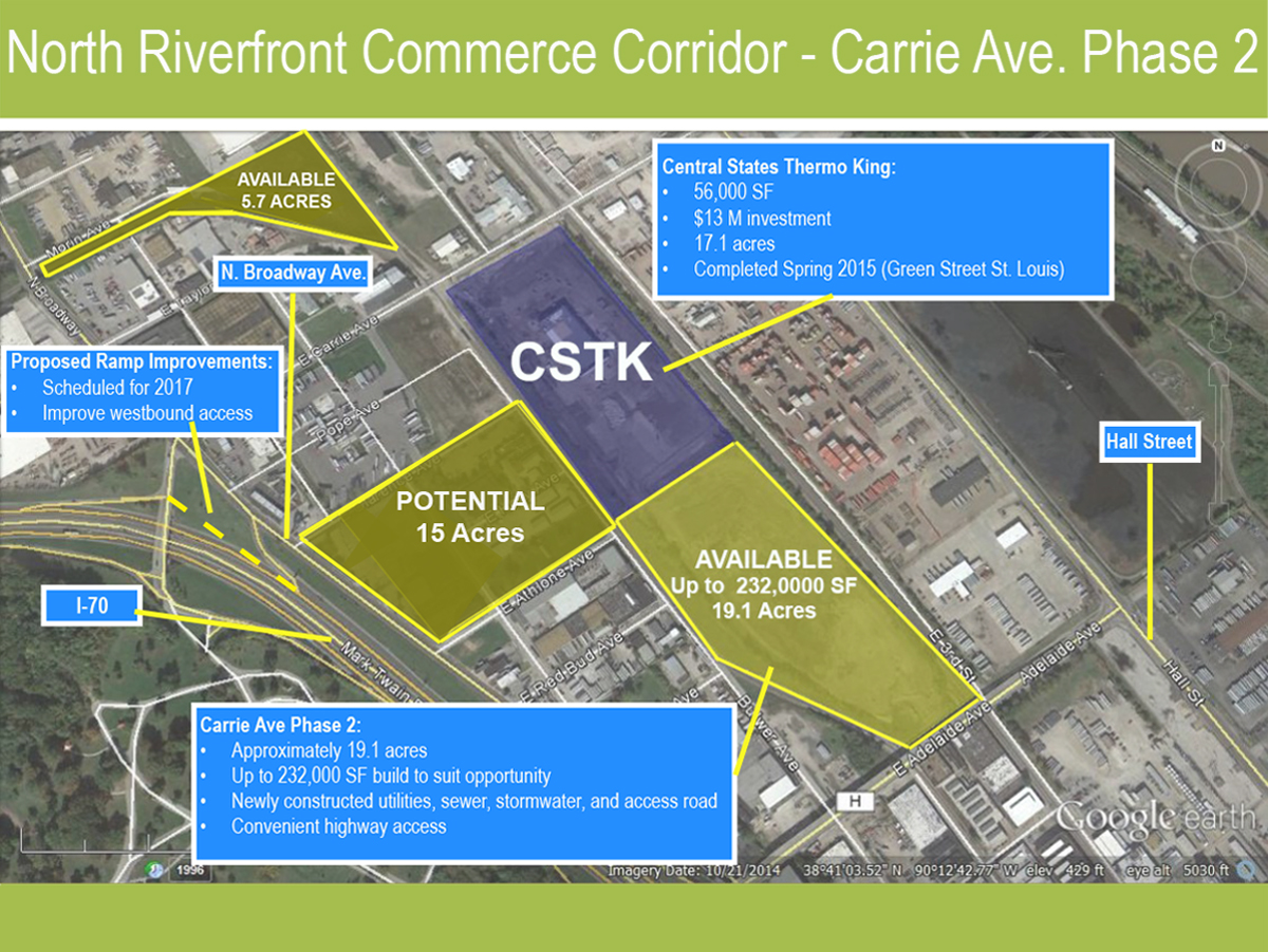North Riverfront Commerce Corridor Image