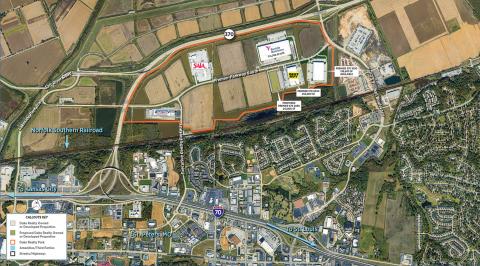 Premier 370 Business Park Aerial View