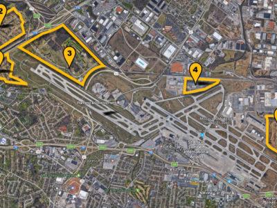 St. Louis Lambert Airport Sites