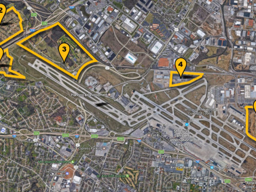 St. Louis Lambert Airport Sites