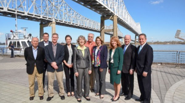 St. Louis Regional Freightway and Port of New Orleans Sign Supply Chain MOU