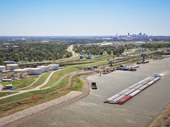 St. Louis Region's Agriculture Freight Network Poised for Growth as Handling Capacity Increases Along the Mississippi River