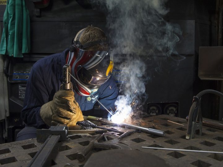 Welding a need: College's new workforce center to make August debut