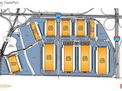 Gateway TradePort Aerial Map