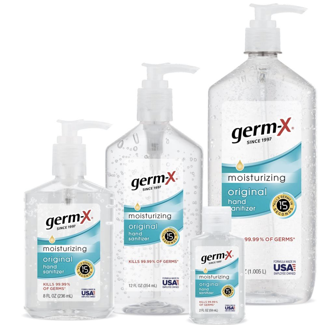 Germ-X products made by St. Louis-based Vi-Jon.