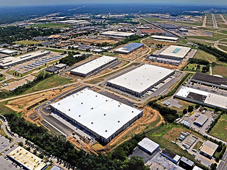 Pictured is the Hazelwood Industrial Center in North St. Louis County. (Photo courtesy of Srenco Aerial Photography)