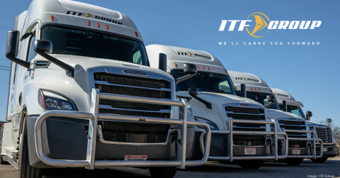 ITF Group trucks side by side