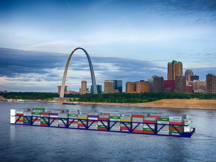 Container-on-Vessel Service to the Midwest Moves Closer to Reality