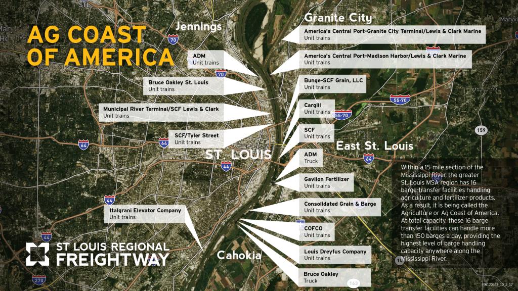 AG Coast of America map