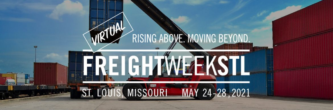 FreightWeekSTL 2021 logo with the dates May 24-28, 2021