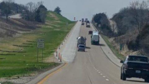 I-70 rising lanes