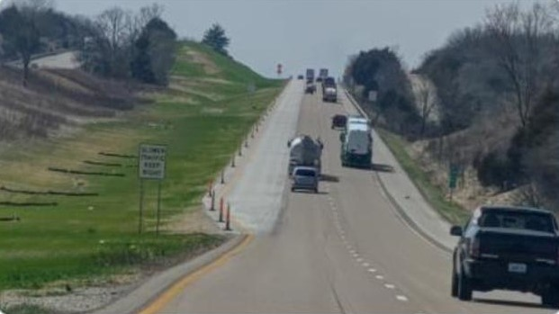 New Climbing Lanes on Interstate 70 in Montgomery County Open to Traffic