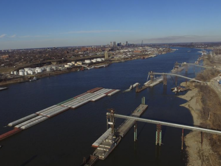 St. Louis port, already Mississippi River's most efficient, improves capacity with new terminal and infrastructure