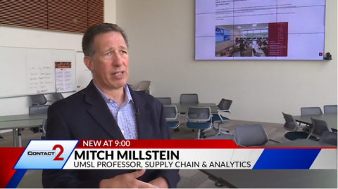 University of Missouri–St. Louis, Associate Director of the College of Business' Center for Business and Industrial Studies and professor of Supply Chain Management Department answers questions on the news.