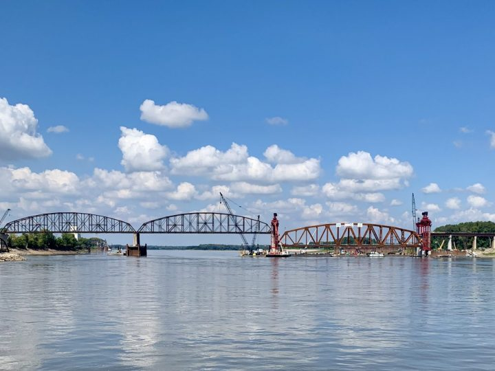 Merchants Bridge Reconstruction Project Reaches Major Milestone