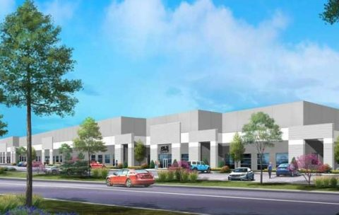 A rendering of RLS LLC's new headquarters in Hazelwood, MO.