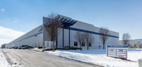 The warehouse at 22 Gateway Commerce Center was bought by a New Jersey investor, Moxie Equities.