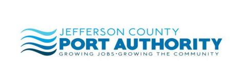 Jefferson County Port Authority logo on a white background