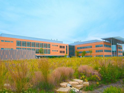 A rendering of the Center for AgTech and Applied Location Science and Technology (CATALST).
